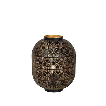 Lucide Tahar orientalske sylinder metall svart bordlampe