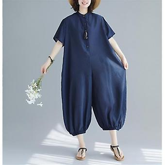 Summer Big Size Jumpsuit