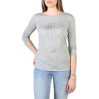 Armani Jeans - Bekleidung - T-Shirts - 3Y5T52_5JZJZ_39X2 - Damen - gray - M