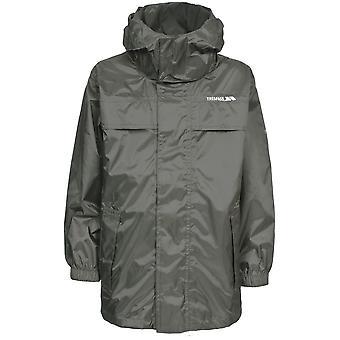 Overtredelse gutter & jenter merket vanntett Packable regn Shell jakke