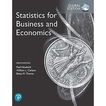 Statistics for Business and Economics Global Edition by Paul Newbold