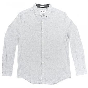 Original Penguin Original Penguin Long Sleeve Knitted Nep Mens Shirt