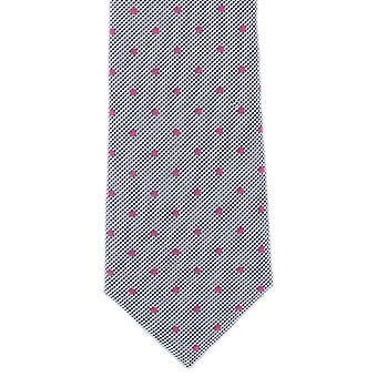 Michelsons Londyn zauważył bawełny Tie - niebieski