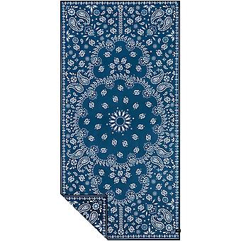 Slowtide Paisley Park Navy Travel Beach Towel in  Navy