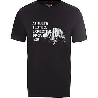 ノースフェイスグラフィックT9493MKY4ユニバーサルサマーメンTシャツ