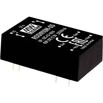 Mean Well RSDW10H-05 DC/DC converter 2000 mA 10 W No. of outputs: 1 x