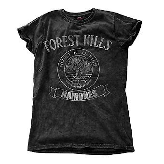 Women's The Ramones Forest Hills Snow Wash T-Shirt