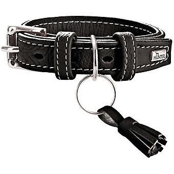 Hunter Cannes schwarzes Hundehalsband (Hunde , Für den Spaziergang , Halsbänder)