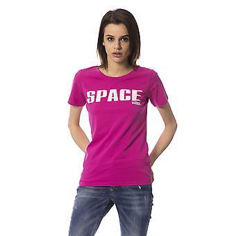 Fuchsia Frankie Morello Women's T-shirt