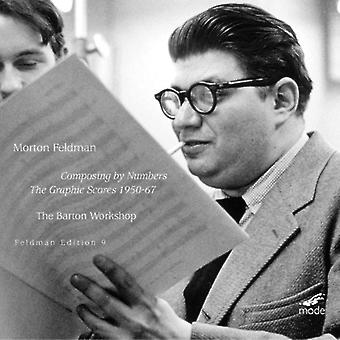 M. Feldman - Morton Feldman: Composing by Numbers - the Graphic Scores, 1950-67 [CD] USA import