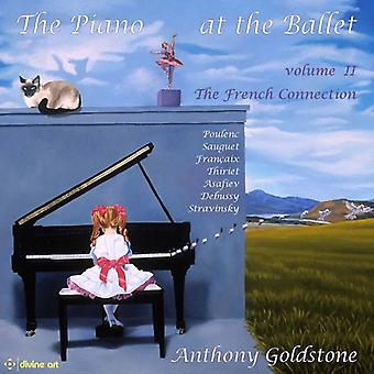 Asafiev / Debussy / Goldstone - Piano at the Ballet 2 - French Collection [CD] USA import