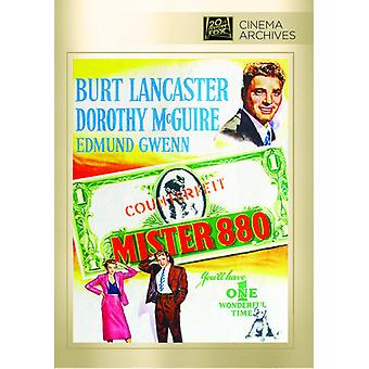 Mister 880 [DVD] USA import