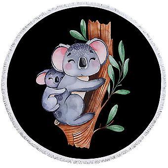 Cute Koalas Beach Towel