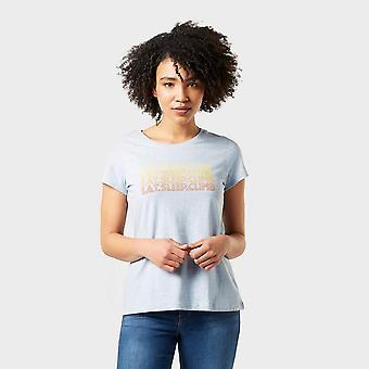 Prana Women's Graphic Short Sleeve T-Shirt Blue