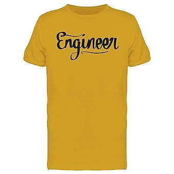 Engineer Design Tee Men's -Imagen de Shutterstock