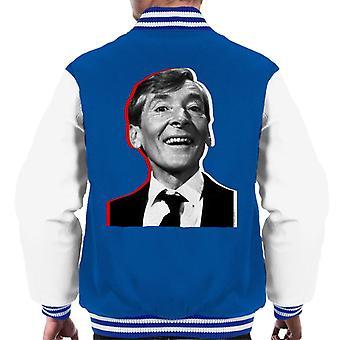 TV Times Kenneth Williams Retro Men's Varsity Jacket