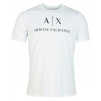 Armani Exchange Script Logo Crew Neck T-Shirt
