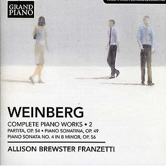 M. Weinberg - Weinberg: Complete Piano Works, Vol. 2 [CD] USA import