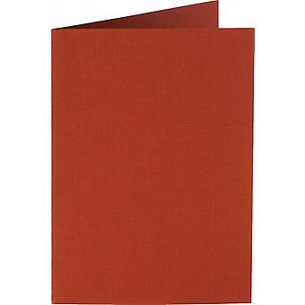 Papicolor 6X Double Card A6 105x148 mm Brick-Red