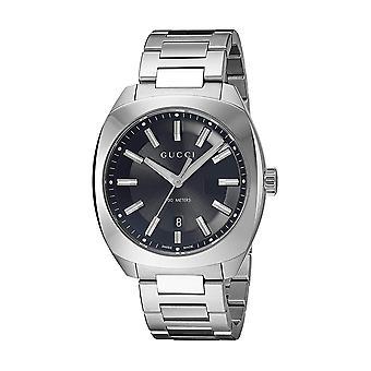 グッチGG2570ブラックダイヤルメン&アポス;s時計YA142301