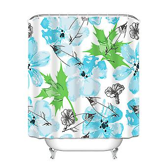 Environmentally friendly odorless shower curtain, waterproof and mildew-proof sanitary bathroom lining