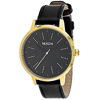 125, Nixon Women 's A108-2879 Quartz Black Watch