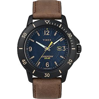 TW4B14600, Expedition Solar Expedition Mens Watch / Bleu