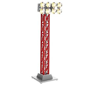LIO82746, P-N-P CHRISTMAS RED FLOODLITE TOWER N. 75