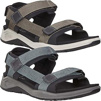 Ecco Mens X-Trinsic 3S Outdoor Trail Walking Hiking Sandals Shoes