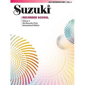 Suzuki Recorder School (Alto Recorder), Vol 1: Recorder Part (Focus)