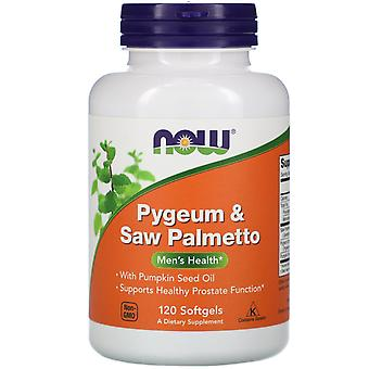 Nu Foods, Pygeum & Saw Palmetto, 120 Softgels