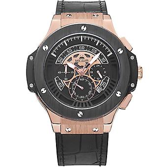 Mannen's casual fashion quartz horloge