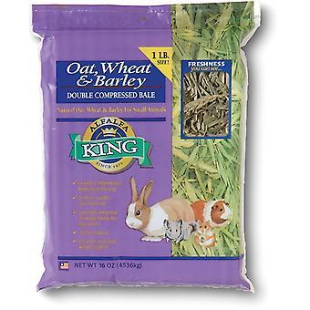 Alfalfa King Haver tarwe en gerst hooi - 450g