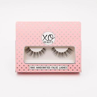 xoBeauty False Lashes - The Romantic - Dramatic Ultra Curled Winged Out