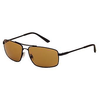 Sunglasses Men's Grey with Brown Lens (9050P)