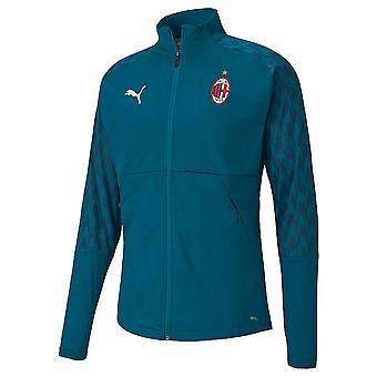 2020-2021 AC Milan Stadium Jacket (Syvä laguuni)