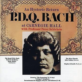 P.D.Q. Bach - importation USA An Hysteric retourner [CD]