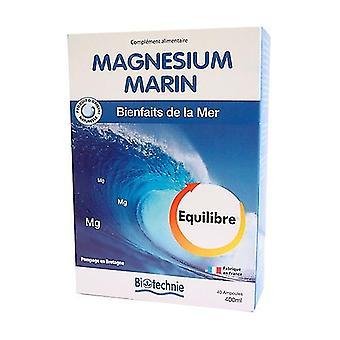 Magnésium Marine 40 ampoules