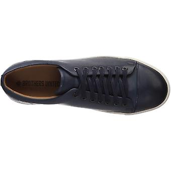 Brothers United Men's Genuine Leather Luxury Lace Up Classic Fashion Sneaker,...