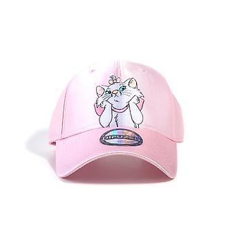 Official Disney Aristocats Marie Satin Curved Bill Cap