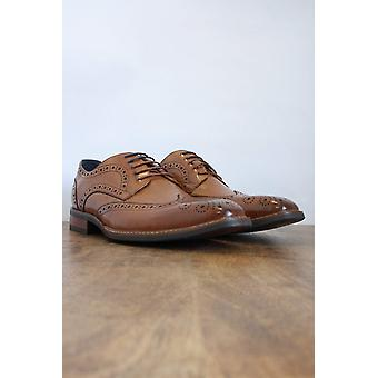 Venezia Tan Brogues