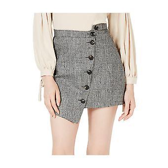 Sage | Button Front Asymmetrical Skirt