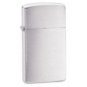 Zippo Slim Brushed Chrome Lighter - Slim