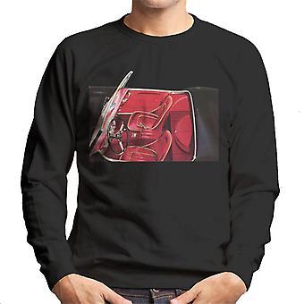 Austin Healey View Of Seats British Motor Heritage Men's Sweatshirt