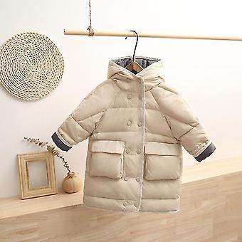 Dziewczyny i kaczka w dół płaszcze- dziecko snow wear kurtka