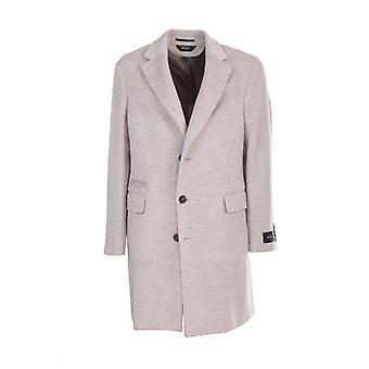 Z Zegna 8978114dg2g0001 Men's Beige Wool Coat