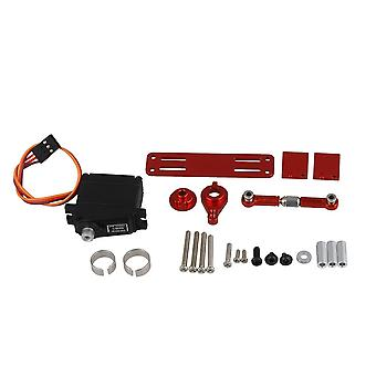 RC1:16 Servo Horn Arm with Steering Link Set Red WPL1697R
