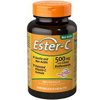 American Health Ester-C with Citrus Bioflavonoids, 500, 120 Caps