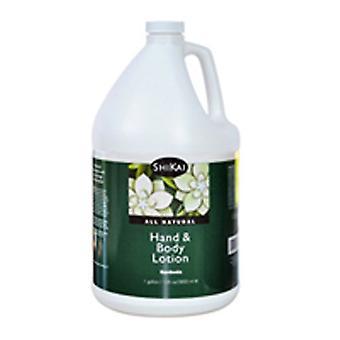 Shikai Natural Hand & Body Lotion, Coconut 1 Gallon