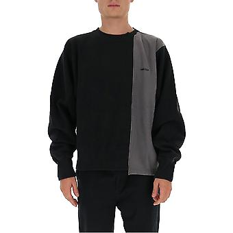 Ambush Bmba003f20fab0011000 Men's Black Cotton Sweatshirt